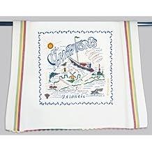 Catstudio Hamptons Dish Towel - Original Geography Collection Décor 095D(CS)