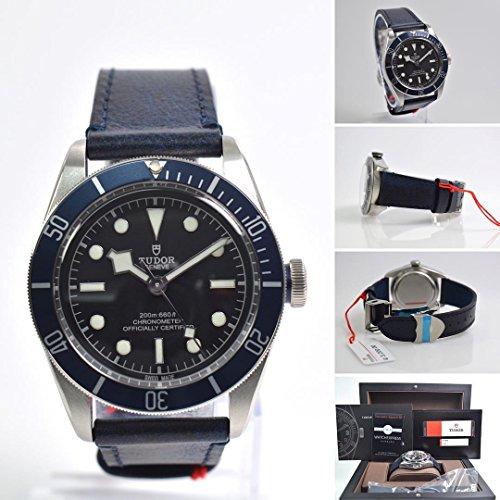 Tudor Heritage Black Bay Automatic Mens Watch 79230B-BKLS