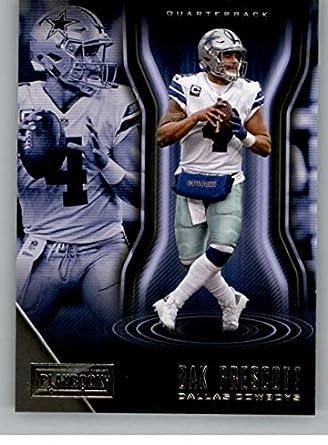 a2394925024 2018 Playbook Football  52 Dak Prescott Dallas Cowboys Official NFL Card  Produced by Panini