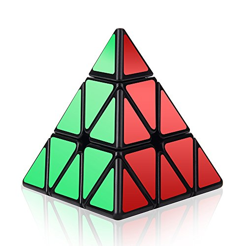 Roxenda Speed Cube, 3x3x3 Pyramid Speed Cube Triangle Puzzle Magic Cube Enhanced Edition - Turns Quicker and More Precisely Than Original (China Cube Speed)