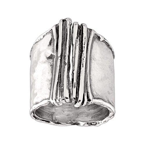 Silpada 'Bamboo' Split-Top Ring in Sterling Silver