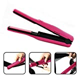 Falt iron,ABTTY Portable Cordless Mini Hair Straightener Ceramic Iron Hair...