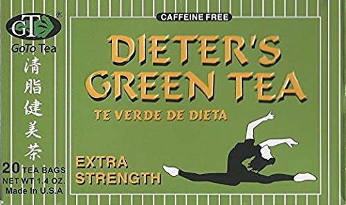 GoTo Tea Dieter's Green Tea (Extra Strength) (20 Tea bags)