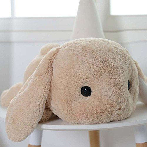 UBeauty 20'' Cute Rabbit Plush Toys Lop Rabbit Doll Pillow (brown)