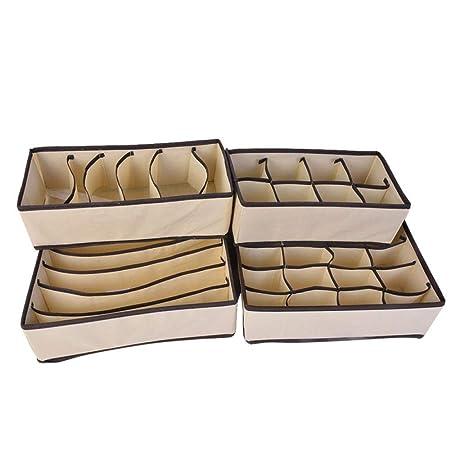 iMyoung - Cajas organizadoras de Ropa Interior para Sujetador ...
