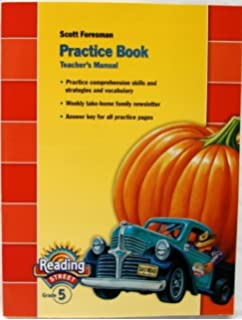 Amazon reading street grade 5 student edition 9780328108381 practice book reading street grade 5 teachers manual by scott foresman 2008 fandeluxe Images