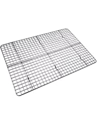 Checkered Chef Cooling Rack Baking Rack. Stainless Steel Oven and Dishwasher Safe Wire Rack. Fits Half Sheet Cookie Pan