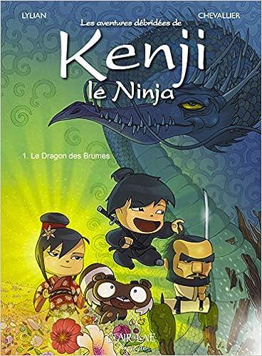 Kenji le Ninja T1: Le Dragon des brumes CDL.JEUNESSE: Amazon ...