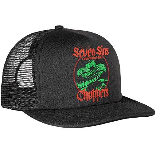 Ssc Cap - Seven Sins Choppers - Viper Snake Trucker Cap