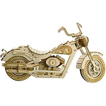 Amazon.com: MOTU 3D Metal Puzzle Avenger Motorcycle