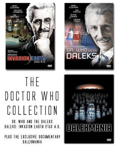 The Doctor Who Collection (Daleks Invasion Earth 2150 A.D. / Dr. Who and the Daleks / Dalekmania) by Anchor Bay Entertainment