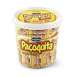 Paçoquita Doce de Amendoim 1kg   Ground Peanut Candy Bar 35.2oz