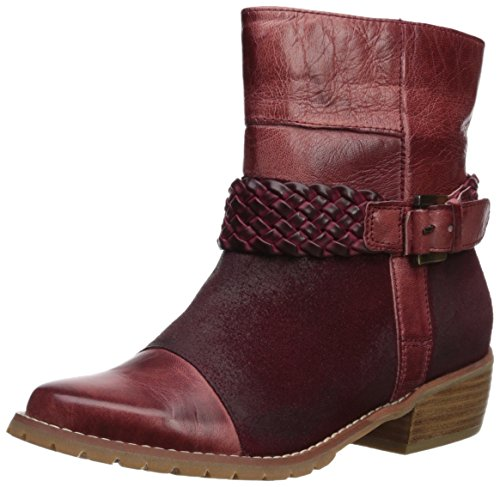 Antelope Women's Ankle Buckle Boot, Wine, 36 M EU/6 M US