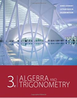 Student solutions manual for stewartredlinwatsons algebra and algebra and trigonometry 3rd edition fandeluxe Choice Image