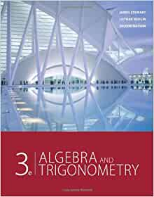 Algebra and trigonometry 3rd edition james stewart lothar redlin algebra and trigonometry 3rd edition 3rd edition fandeluxe Choice Image