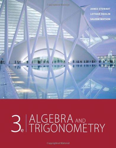 Algebra And Trigonometry, 3rd Edition