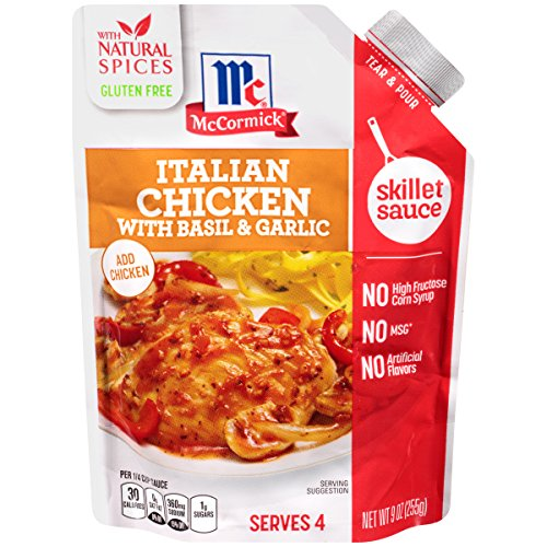 McCormick Italian Chicken Tomato Skillet