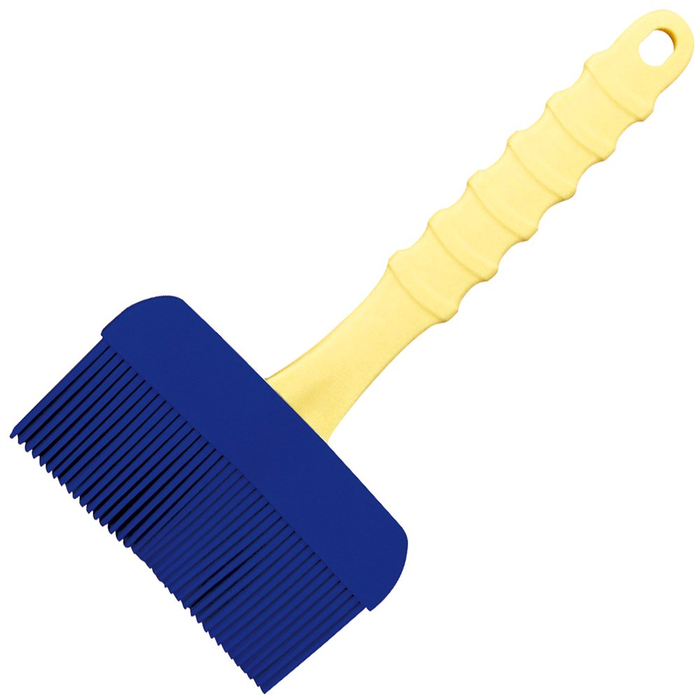 Silicone Brush Made in Japan (LL, Blue)