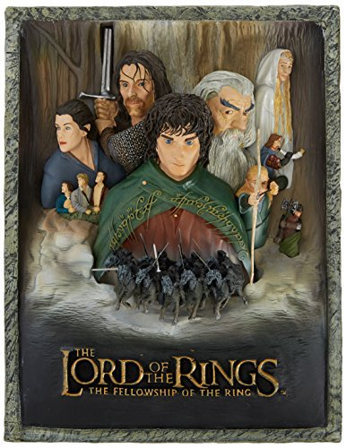 3 D Movie Posters - Lord of the Rings Fellowship of the Ring 3-D Movie Poster