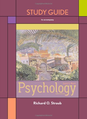 Study Guide for Psychology - Myer Knox