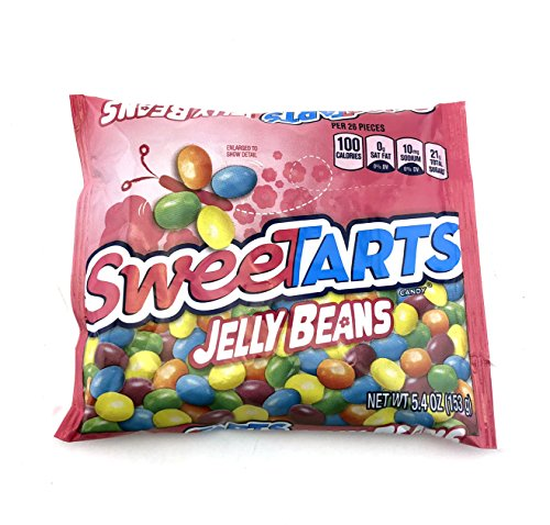 SweeTarts Jelly Beans, Candy Treats Pack, 5.4 Ounce Bag (Pack of 8) (Bean Jelly Tarts)