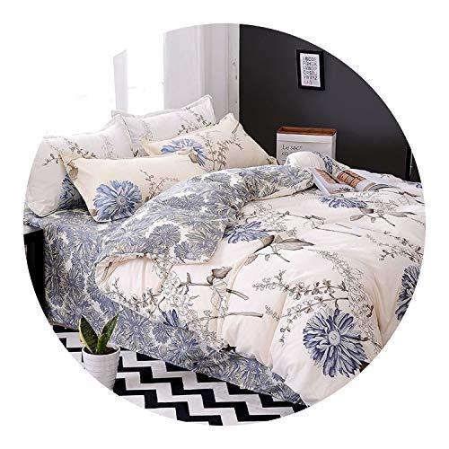 Pursuit-of-self Home Textile Little Bear Kid Child Girls Bedding Set,15,Queen,Flat Bed Sheet