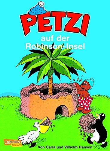 Petzi, Bd.13, Petzi auf der Robinson-Insel