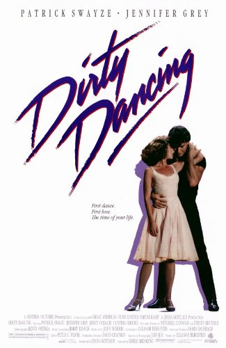 Dirty Dancing Poster Movie Patrick Swayze Jennifer Grey Cynthia Rhodes Jerry Orbach