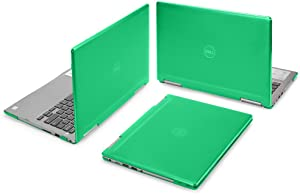 "mCover Hard Shell Case for 13.3"" Dell Inspiron 13 7373/7370 2-in-1 Convertible (NOT Compatible with Older Dell Inspiron 7347/7348 / 7352/7359 / 7368/7378 Models) Laptop (I13-7373 Green)"