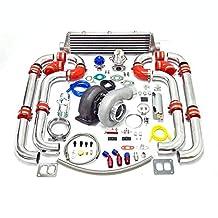 Universal Turbocharged Upgrade GT45 T4 12pc Turbo Kit
