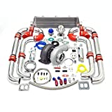 turbo upgrade kit - Universal Turbocharged Upgrade GT45 T4 12pc Turbo Kit