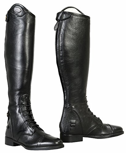 TuffRider Belmont Field Boots Ladies Black 75 LD