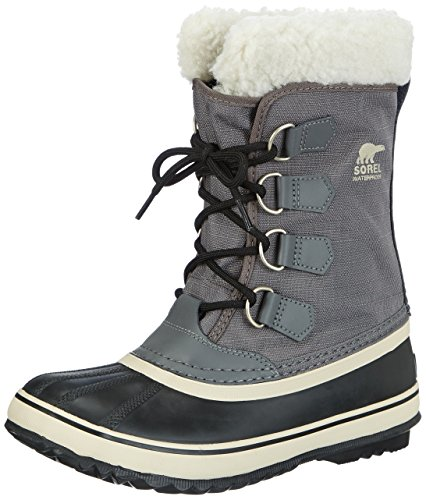 Sorel Women's Winter Carnival Boot,Pewter/Black,6.5 M US