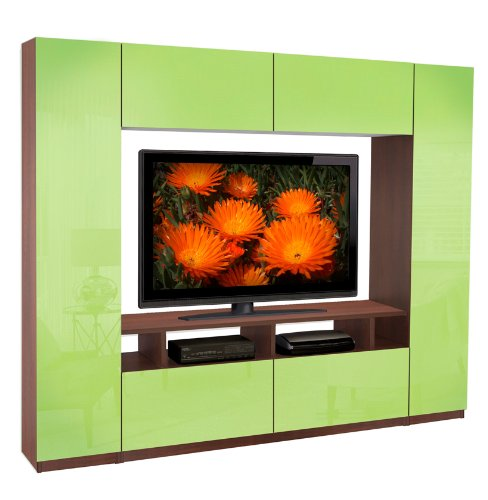 Metropolis Wall Unit - 6 Foot Wall Unit Small in Size but Big on (Metropolis Furniture)