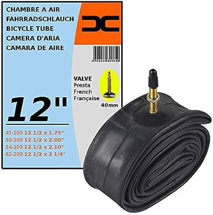"INNER TUBE 12 1//2 x 2 1//4/"" 47//62-203 PRESTA VALVE TYPE 40mm BICYCLE TIRE MTB"