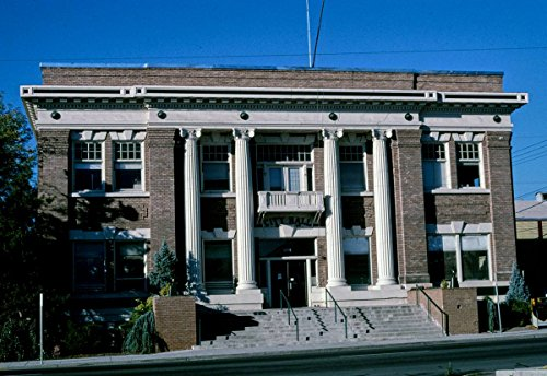 (Roadside America Photo Collection | 2003 City Hall, Angle 1, S. 5th Street, Klamath Falls, Oregon | Photographer: John Margolies | Historic Photographic Print 12in x 08in )