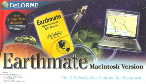 DeLorme Earthmate GPS Receiver and Street Atlas USA 6.0 for Macintosh Earthmate Gps Receiver