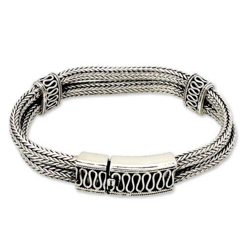 NOVICA .925 Sterling Silver Cu
