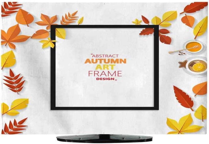 Miki Da Autumn Vector Frame Wirth Autumn Dried Orange Colored Leaves Useful Graphics in Vector Eps 16: Amazon.es: Hogar