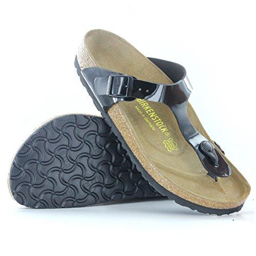 Birkenstock Women's GIzeh Thong Sandal, Black Patent, 38 M EU/7-7.5 B(M) US by Birkenstock (Image #16)