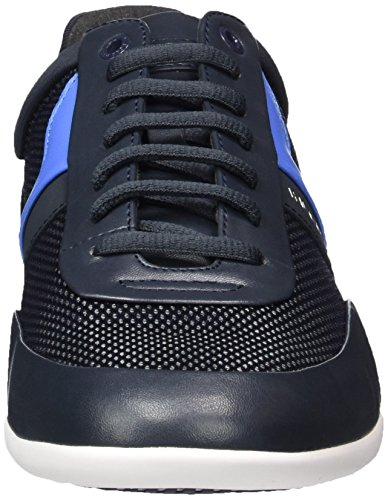 cheap 100% original 100% authentic for sale BOSS Green Men's Space_Lowp_nyme 10197522 01 Low-Top Sneakers Blue (Dark Blue 401) Q4xILDrIs