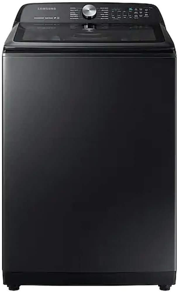Samsung WA50R5400AV 5.0 cu. ft. Black Stainless Top Load Washer with Super Speed WA50R5400AV/US