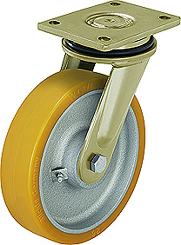 J.W. Winco 250KBU1 Caster, Wheel: Blickle Extrathane, Polyurethane, Tread by JW Winco