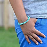 Turquoise Bracelet, Balance Bracelet, Unisex