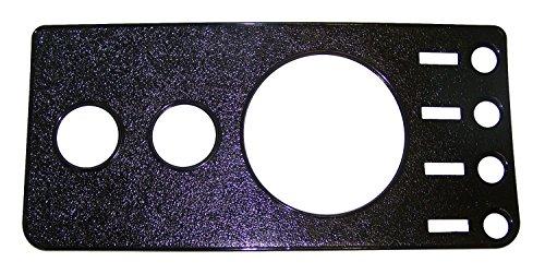 Crown Automotive 5457117NR Black Dash Overlay Panel