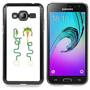 """Planetar ( Pintura Acuarela Arte Hombre"""" ) Samsung Galaxy J3(2016) J320F J320P J320M J320Y Fundas Cover Cubre Hard Case Cover"""