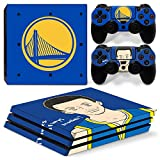 GoldenDeal PS4 Pro Skin and DualShock 4 Skin - Basketball NBA LA - PlayStation 4 Pro Vinyl Sticker for Console and Controller Skin