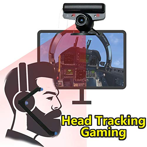 FreeTrack OpenTrack HeadTracking Camera Modified PS3 eye USB webvam TV Stand