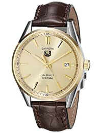 TAG Heuer Men's WAR215A.FC6181 Analog Display Swiss Automatic Brown Watch