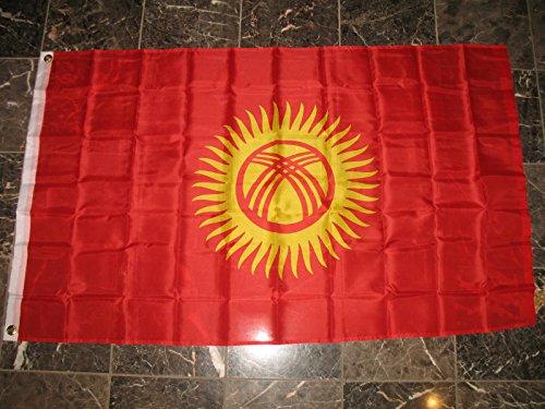 3X5 Kyrgyzstan Flag 3X5 Banner Brass Grommets